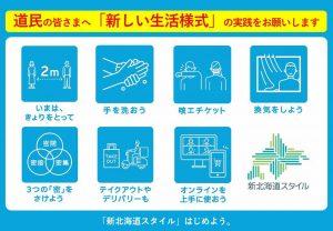 「新北海道スタイル安心宣言」